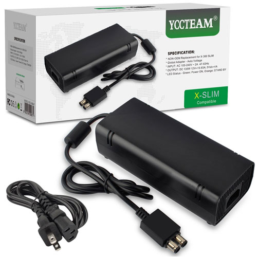 YCCTEAM Power Supply Cord AC Adapter Power Brick Replacement Charger