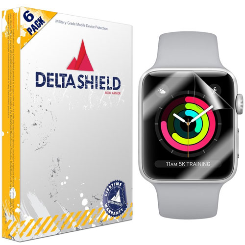 Apple Watch Screen Protector (42mm Series 3/2/1 Compatible) DeltaShield BodyArmor