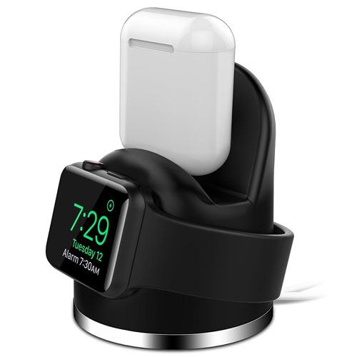 OLEBR Apple Watch Series 3 Stand iPhone X/8/8Plus/7/7Plus/6s/6s Plus Dock