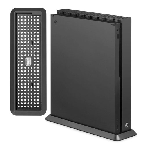 Xbox One X Vertical Stand, Aevdor Game Accessories Vertical Stand for Xbox One X Console