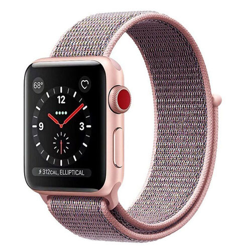 Easy Watch Sports Loop Band, Fastener Adjustable Closure Wrist Strap Nylon Replacement Band