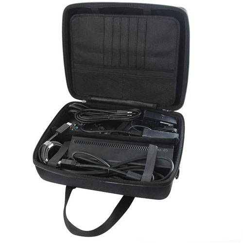 Hard EVA Travel Case for Xbox One X 1TB Console Controller by Hermitshell