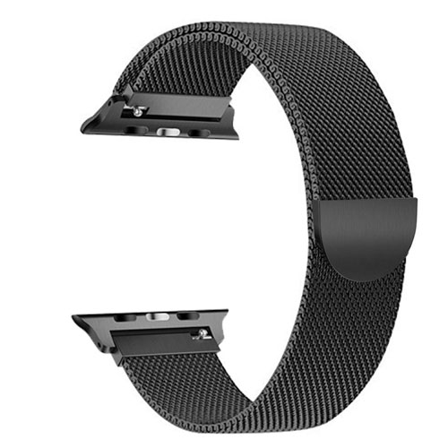Milanese Loop For Apple Watch, Smooth Stainless Steel Band Freely Fully Magnetic Closure
