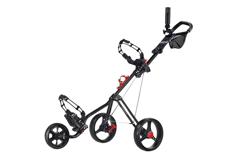 Top 10 Best 3 Wheel Golf Push Trolleys in 2018 Reviews