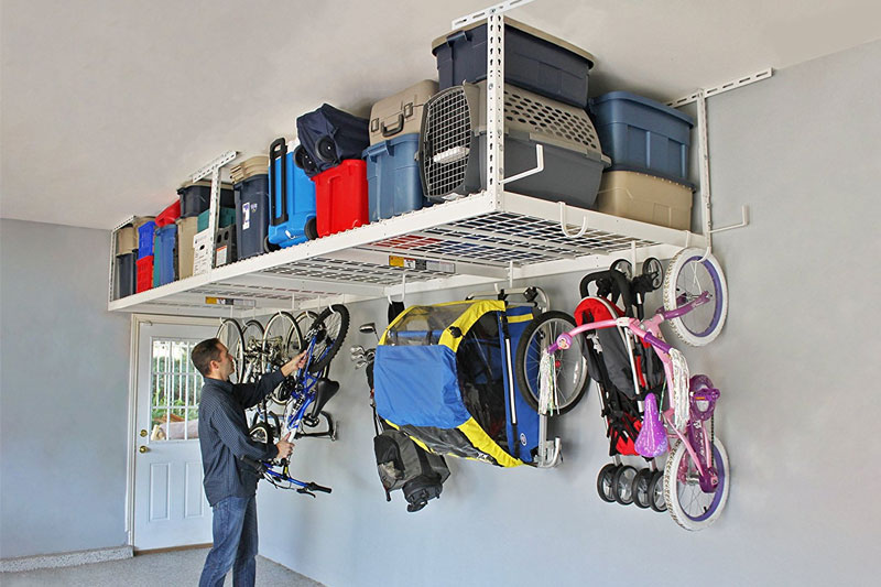 Top 10 Best Ceiling Mounted Storage Racks for Garage in 2019 Review