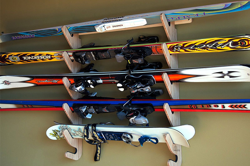 Top 10 Best Ski Storage Racks for Garage in 2018 Reviews