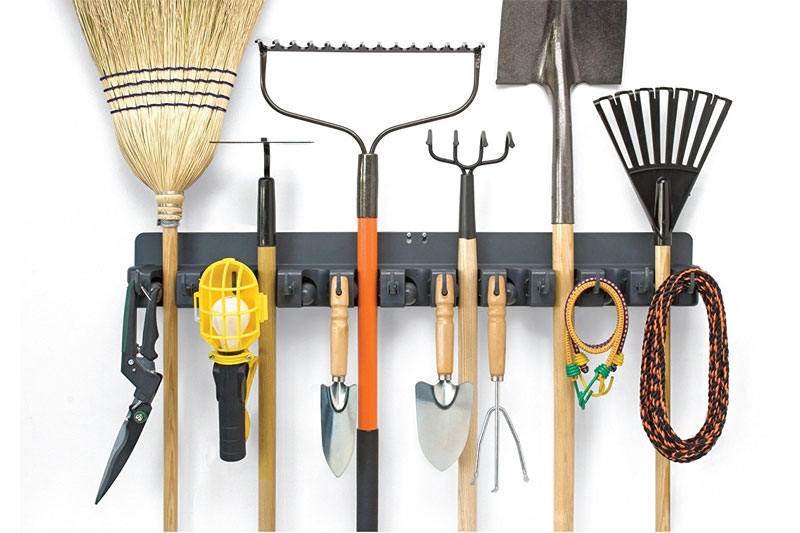 Top 10 best Wall Mounted Rack for Household Chores Tools in 2018 Review