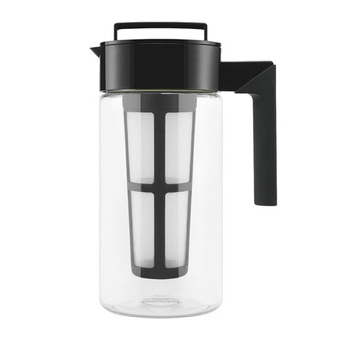 Takeya Patented Deluxe Cold Brew Iced Coffee Maker with Airtight Seal & Silicone Handle