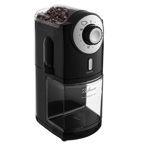 Top-Rated Bellemain Burr Coffee Grinder with 17 Settings for Drip Turkish Coffee Makers.