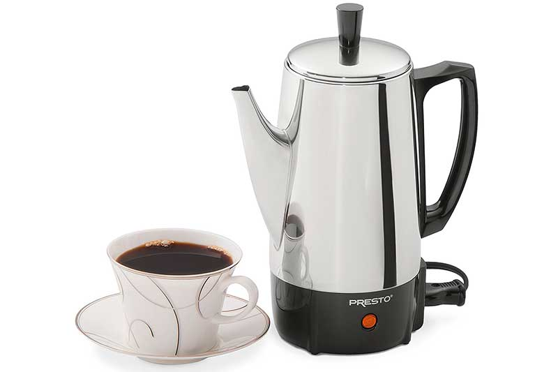 Top 10 Best Electric Coffee Percolators in 2018 Reviews