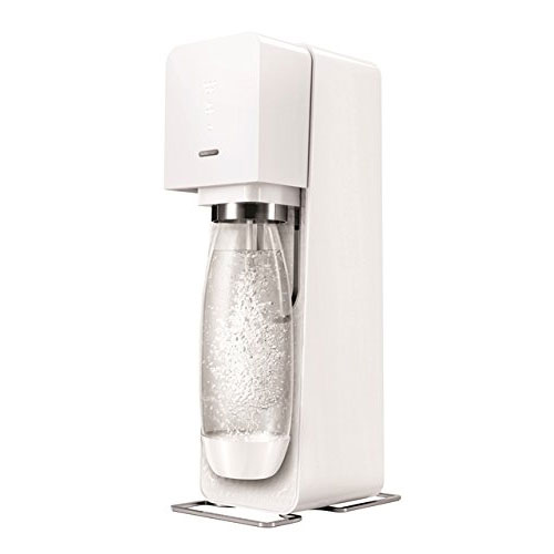 SodaStream Source Sparkling Water Maker, Carbonator Not Included, White