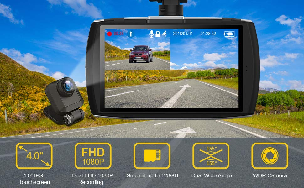 Top 10 Best Smart Dash Cameras for Cars of 2020 Review