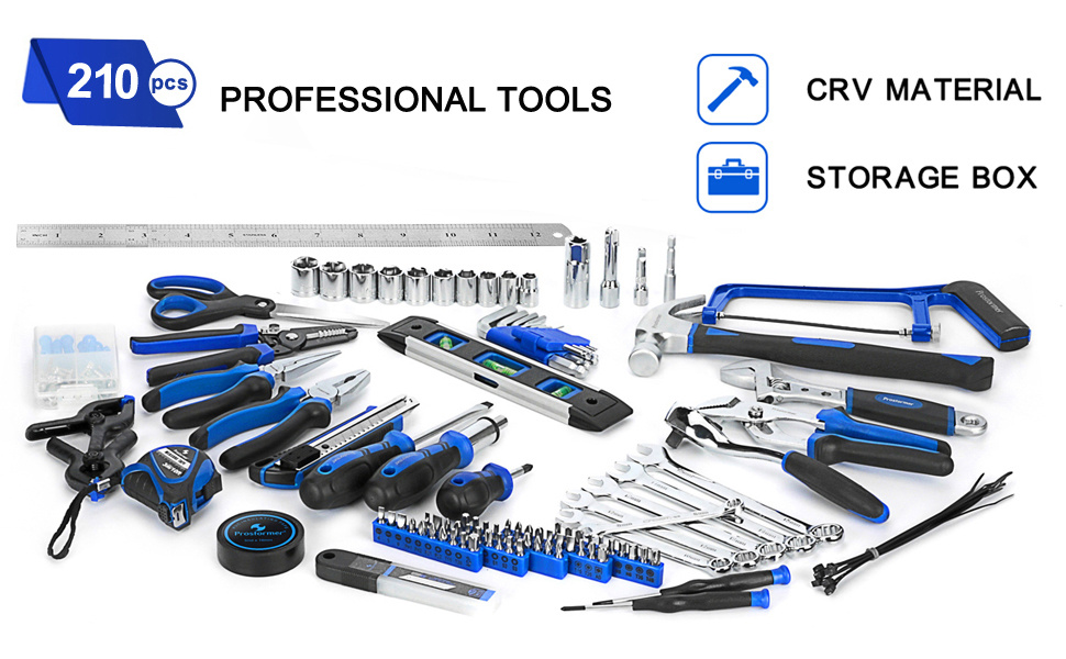 Top 10 Best Household Tool Kits of 2019 Review