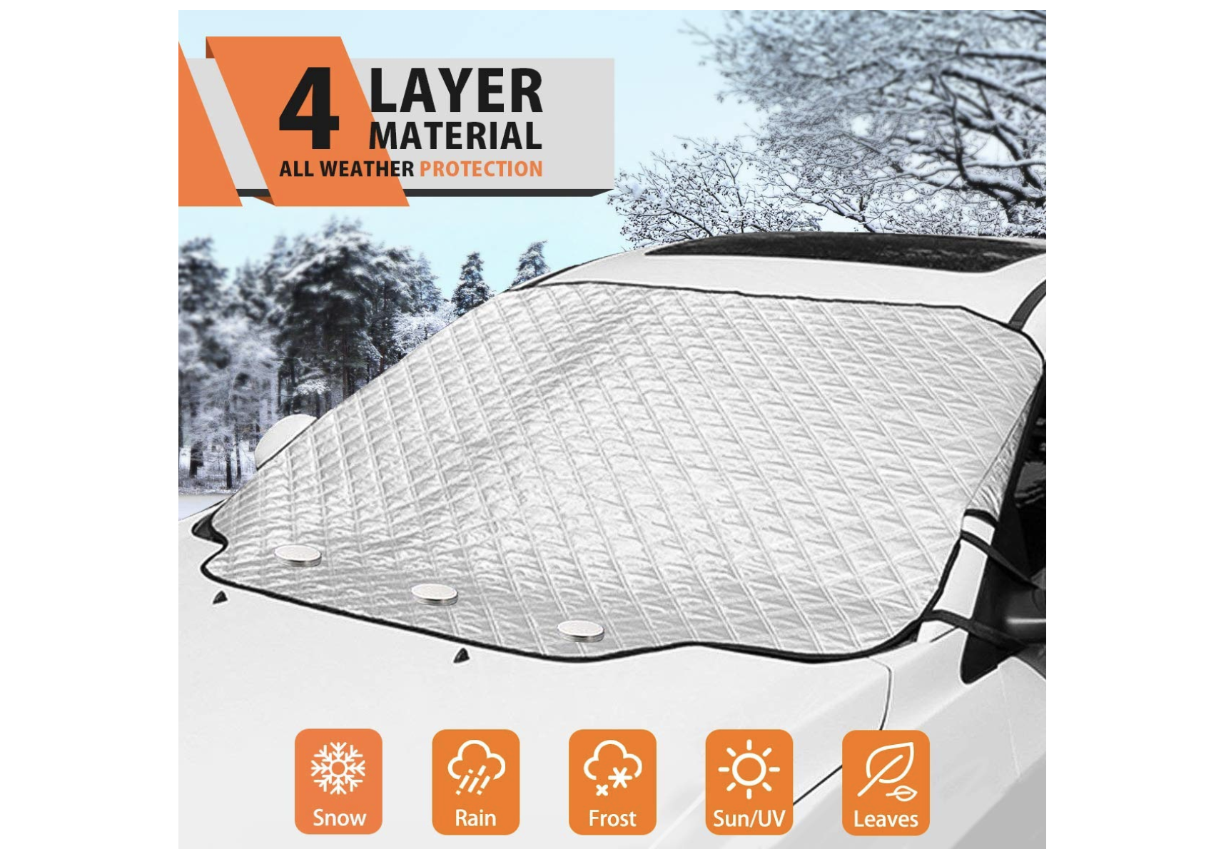 Top 10 Best Car Windshield Snow Covers of 2019 Review