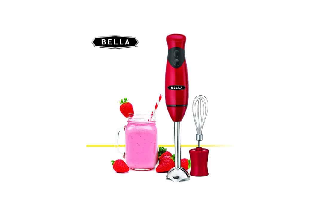 BELLA Hand Immersion Blender 250 Watt RED 14460