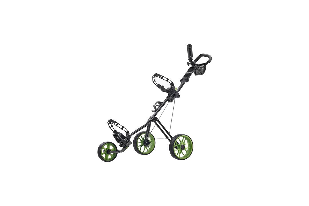 CaddyTek SuperLite Deluxe Golf Push Cart