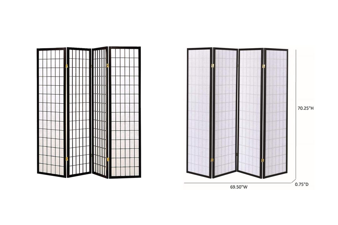 Coaster Home Furnishings Oriental Shoji Screen Room Divider