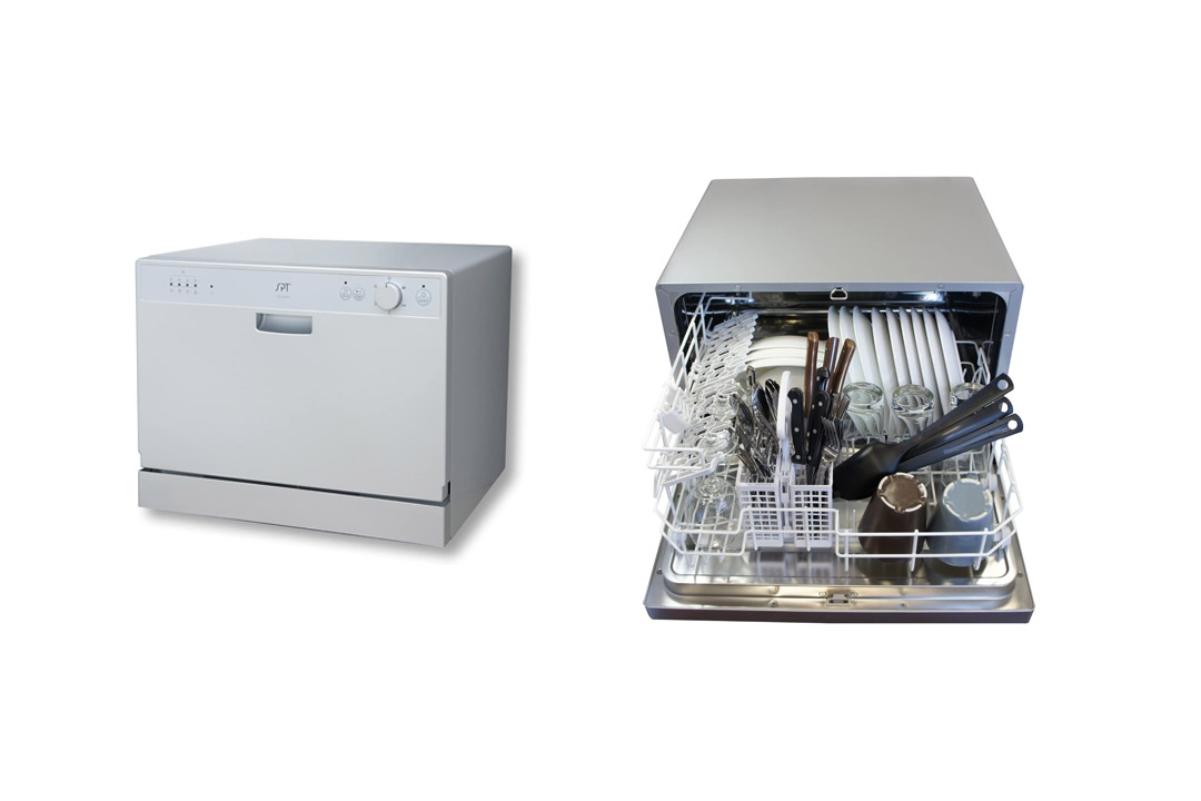 Countertop Dishwasher Premium Stainless Steel Electric Table Top Machine