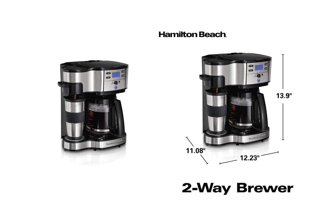 Hamilton Beach 49980A Single Serve Full Pot Coffee Maker