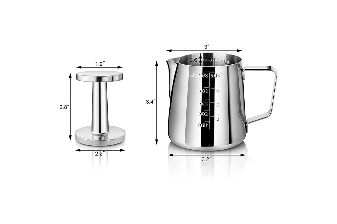 New Star Foodservice 28829 Commercial Grade Stainless Steel Frothing Pitcher