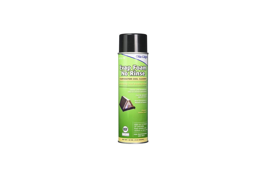 Nu-Calgon 4171-75 Evap Foam No Rinse Evaporator Coil Cleaner, 18 oz