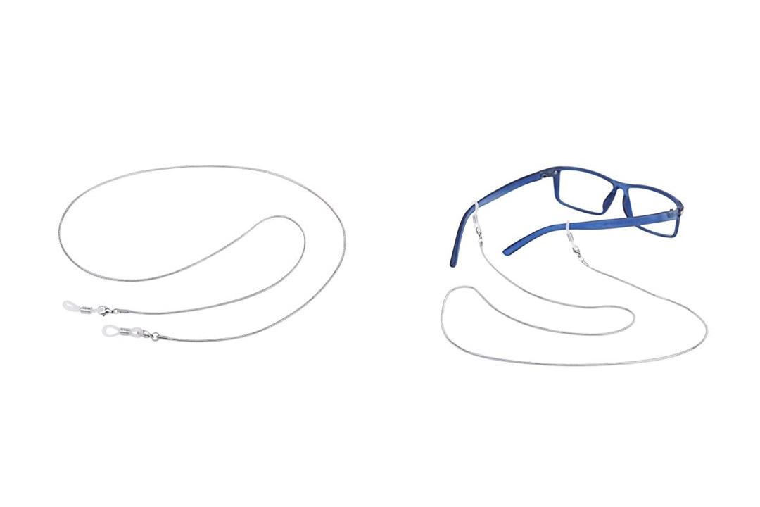 Tinksky Eyeglass Chain Stainless Steel Sunglasses Cord Neck Strap Holder - 70cm