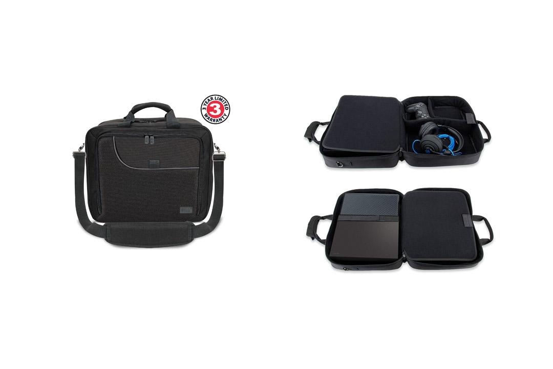 USA Gear Xbox One / Xbox 1 X Travel Case Console Bag Kinect Storage