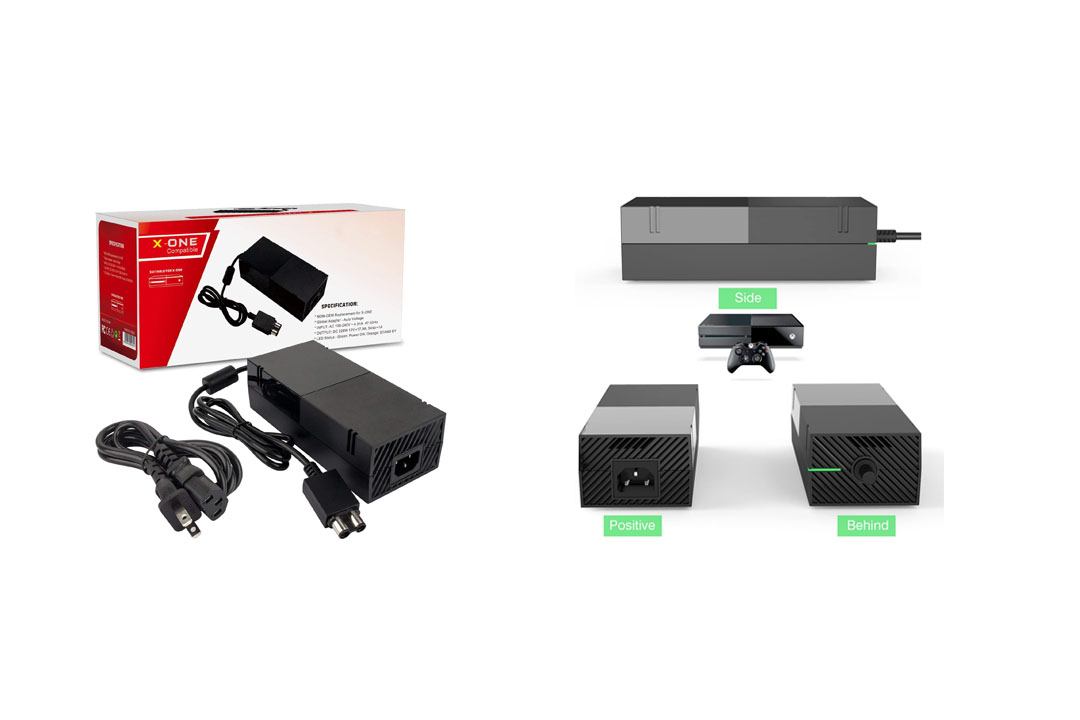 Xbox One Power Supply Brick,AC Adapter Power Supply Charger Cord
