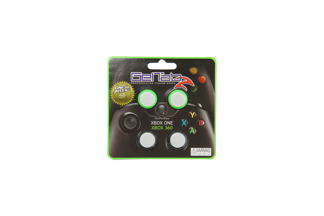 GelTabz Performance Thumb Grips - Xbox One and Xbox 360 InterWorks Unlimited, Inc.