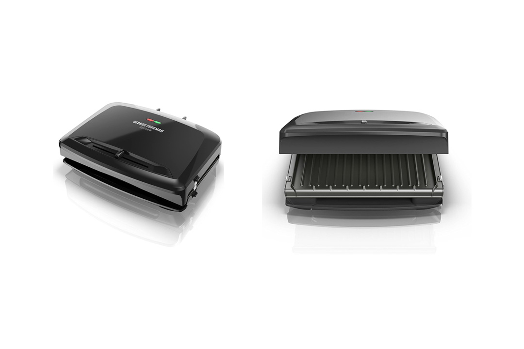 George Foreman Rapid Grill Series, 5-Serving Removable RPGV3801BK