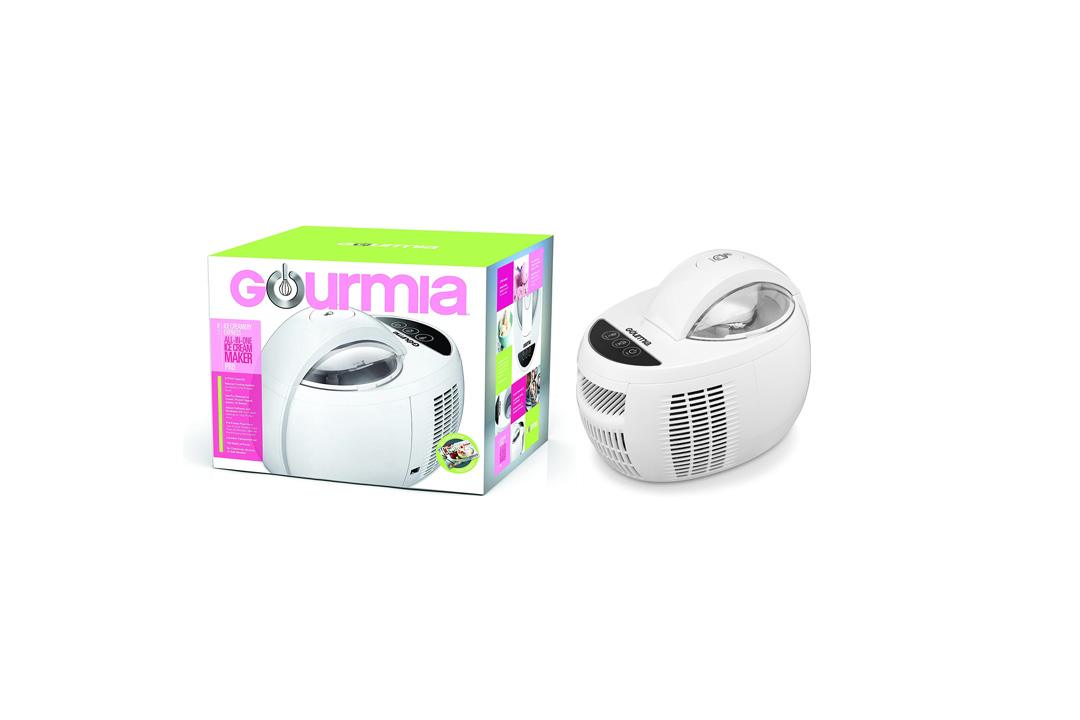 Gourmia GSI480 Automatic Ice Cream Maker with Built-In Cooling System
