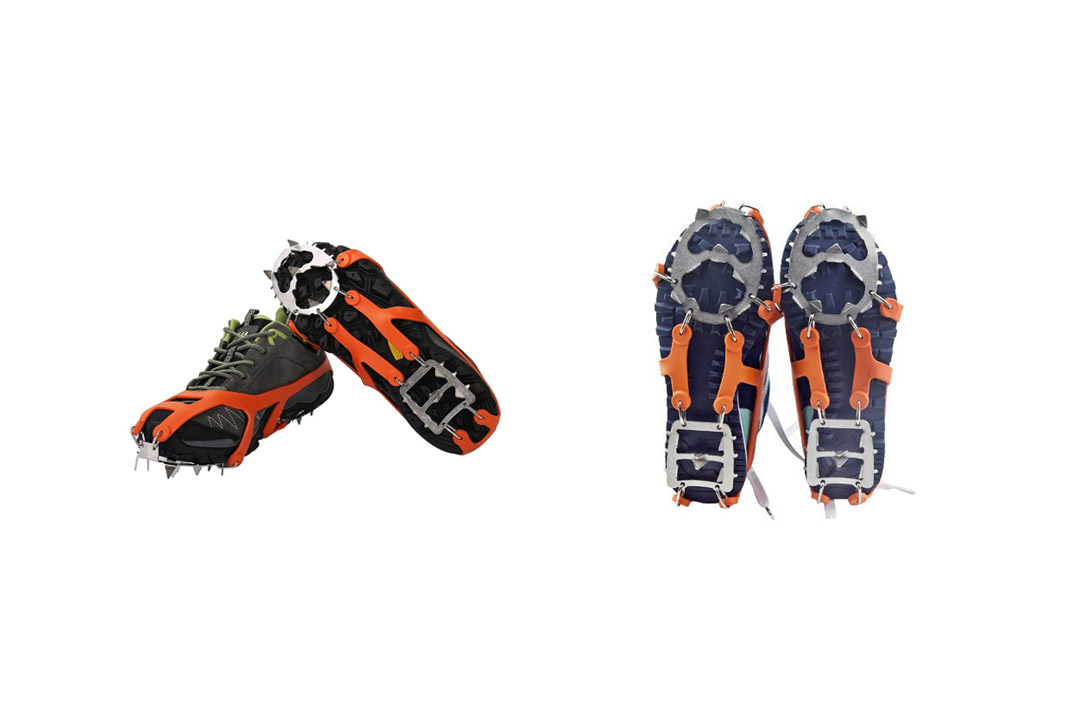Micro spikes Traction Cleats - IC3CCOM Footwear Traction Ice for Walking, Jogging, or Hiking on Snow and Ice