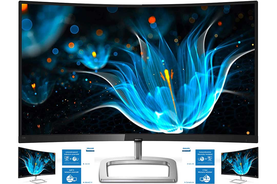Philips 328E9QJAB 31.5 Curved Frameless Monitor