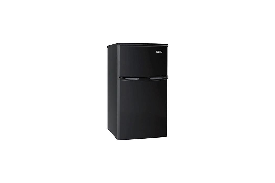 RCA-Igloo 3.2 Cubic Foot 2 Door Fridge and Freezer, Black