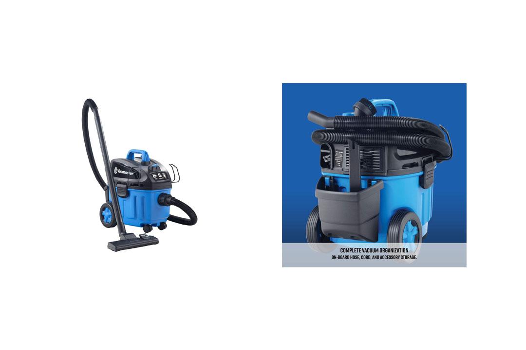 Vacmaster 4 Gallon, 5 Peak HP with 2-Stage Wet/Dry Floor Vacuum, VF408