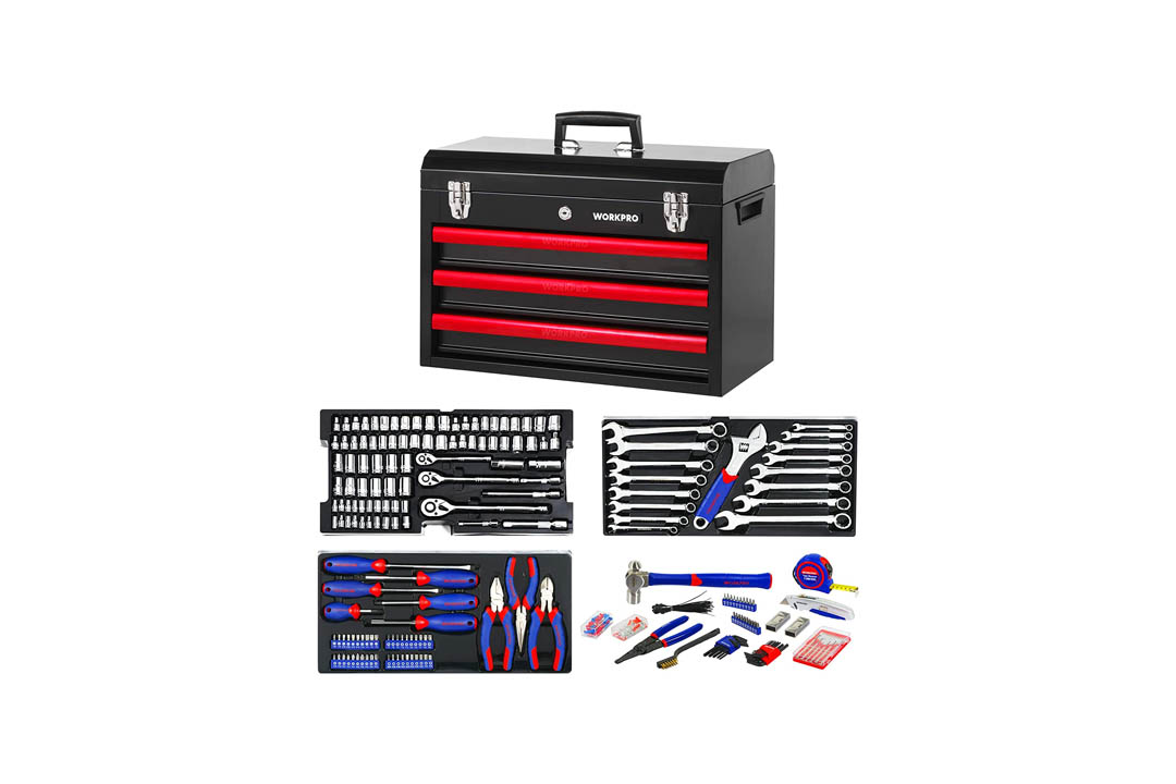 WORKPRO W009044A Mechanics Tool Set
