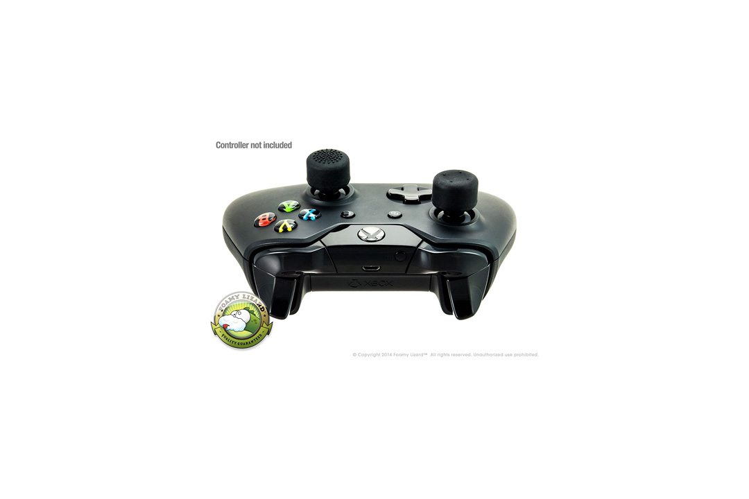 AceShot Thumb Grips (8pc) for Xbox One (& One S) by Foamy Lizard