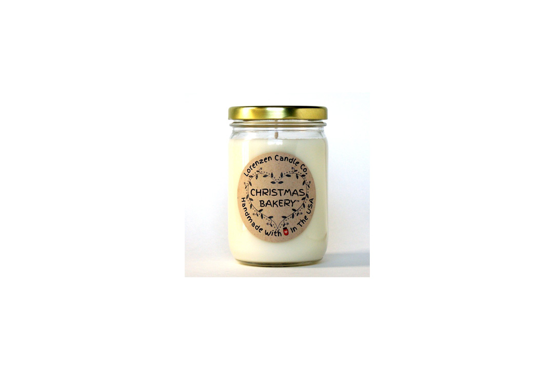 Christmas Bakery Soy Candle, 12oz | Handmade in the USA with 100% Soy Wax