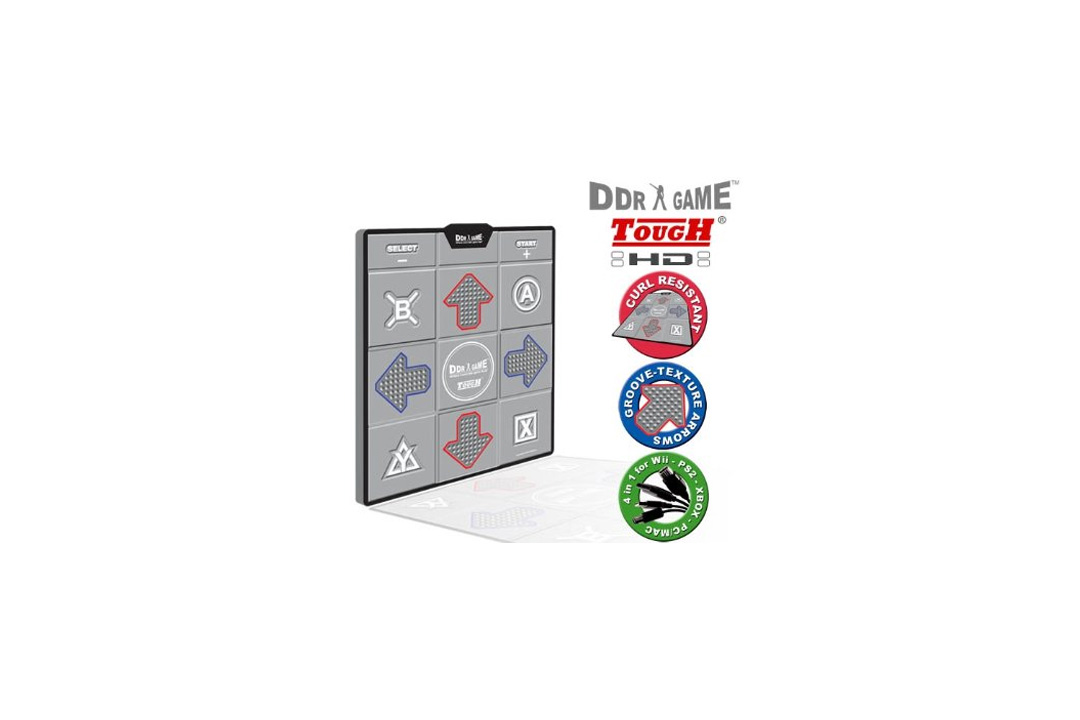 DDR Game Tough Super Deluxe Dance Pad for PC/ PS2/ PS1/ Wii/ Xbox
