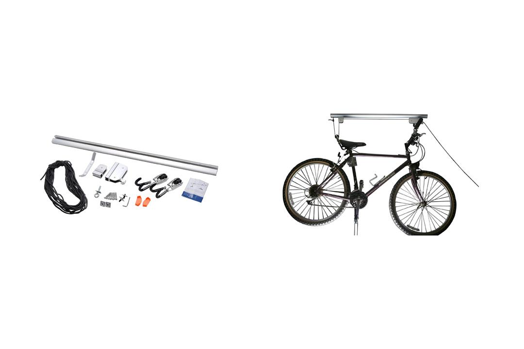 RAD Cycle Products Highest Quality Rail Mount Heavy Duty Bike Hoist and Ladder Lift