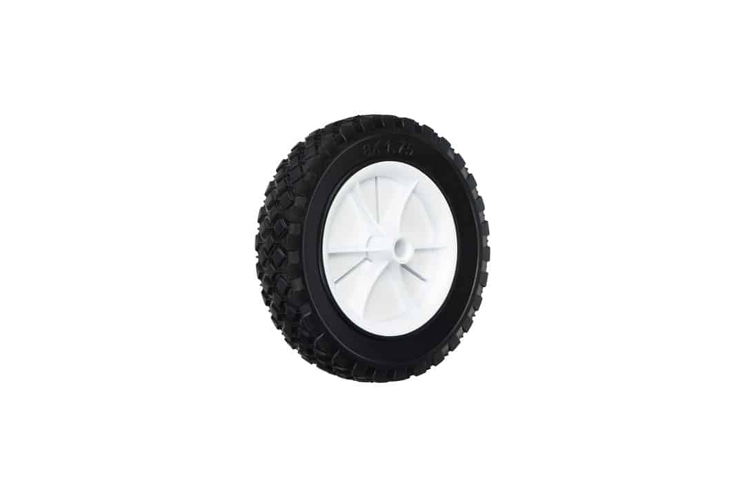 Shepherd Hardware 9613 8-Inch Semi-Pneumatic Rubber Replacement Tire