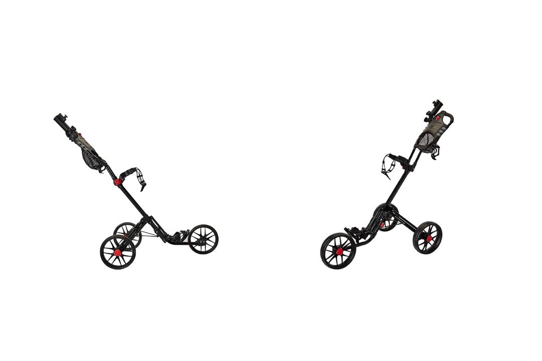 Caddytek Super Deluxe Quad Fold Golf Cart