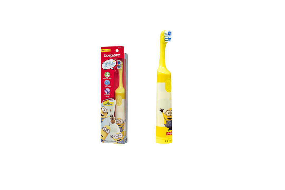 Colgate Kids Minions Talking Battery Powered Toothbrush