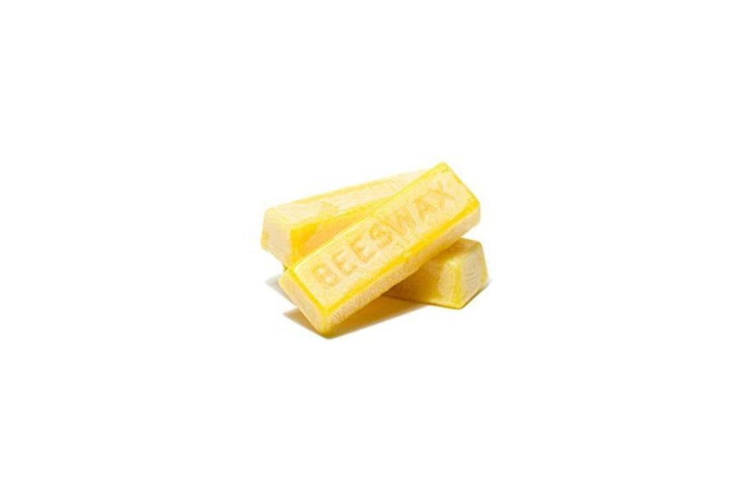 Gentle Bees Premium Block of Beeswax, 4 oz