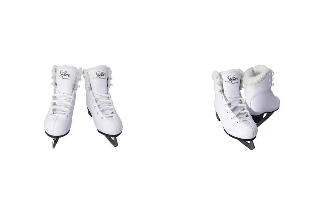 Jackson Ultima GS180 SoftSkate Womens Ice Skates / Blue, Fleece, Pink, Purple