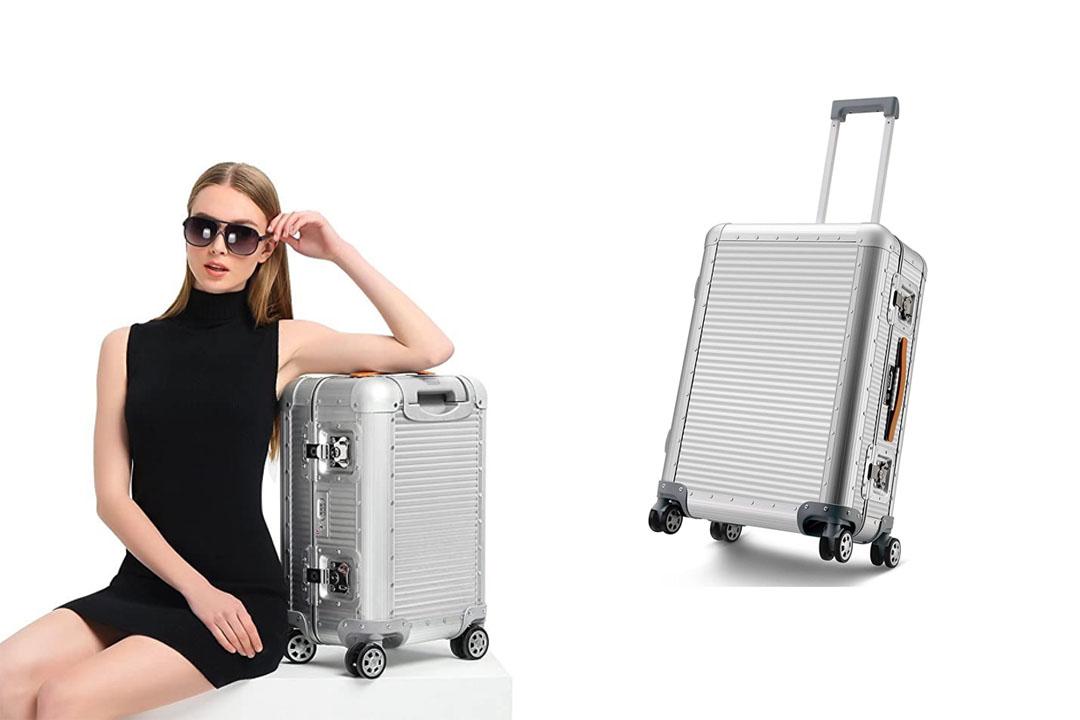Luggage Business Lock 360 Rolling Wheels