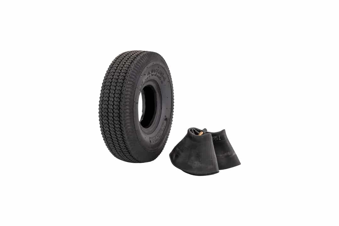 "Marathon 4.10/3.50-4"" Pneumatic All Purpose Utility Tire and Inner Tube"
