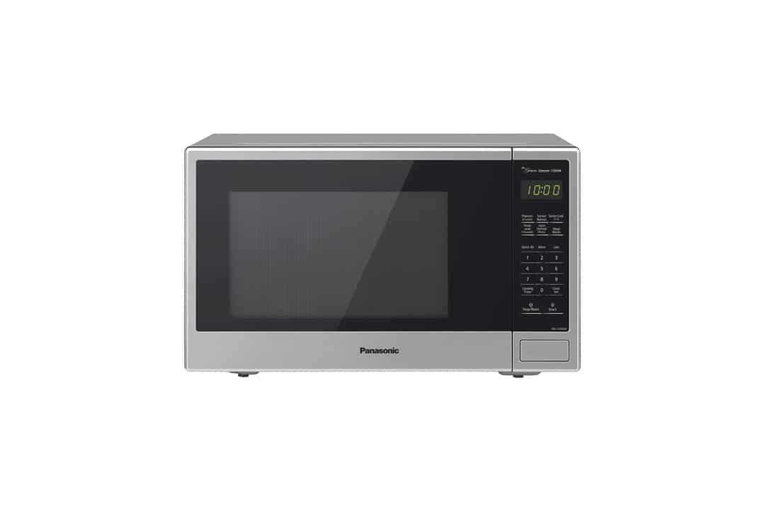 Panasonic NN-SU696S Countertop Microwave Oven with Genius Cooking Sensor and Popcorn