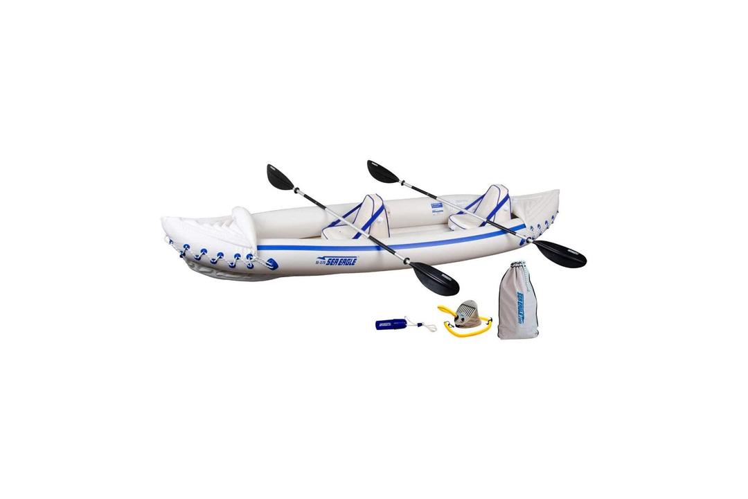 Sea Eagle SE370 Inflatable Sport Kayak Pro Package