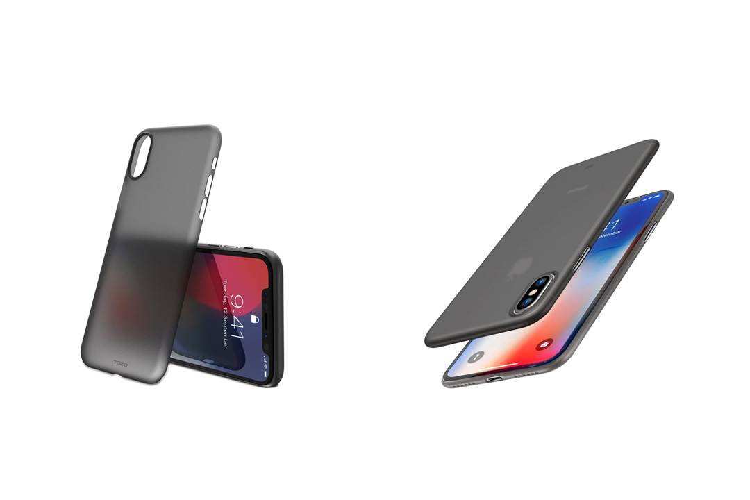 TOZO for iPhone X Case, PP World's Thinnest Protect Hard Case